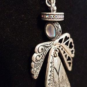 Premier Designs Jewelry - Angel pendant